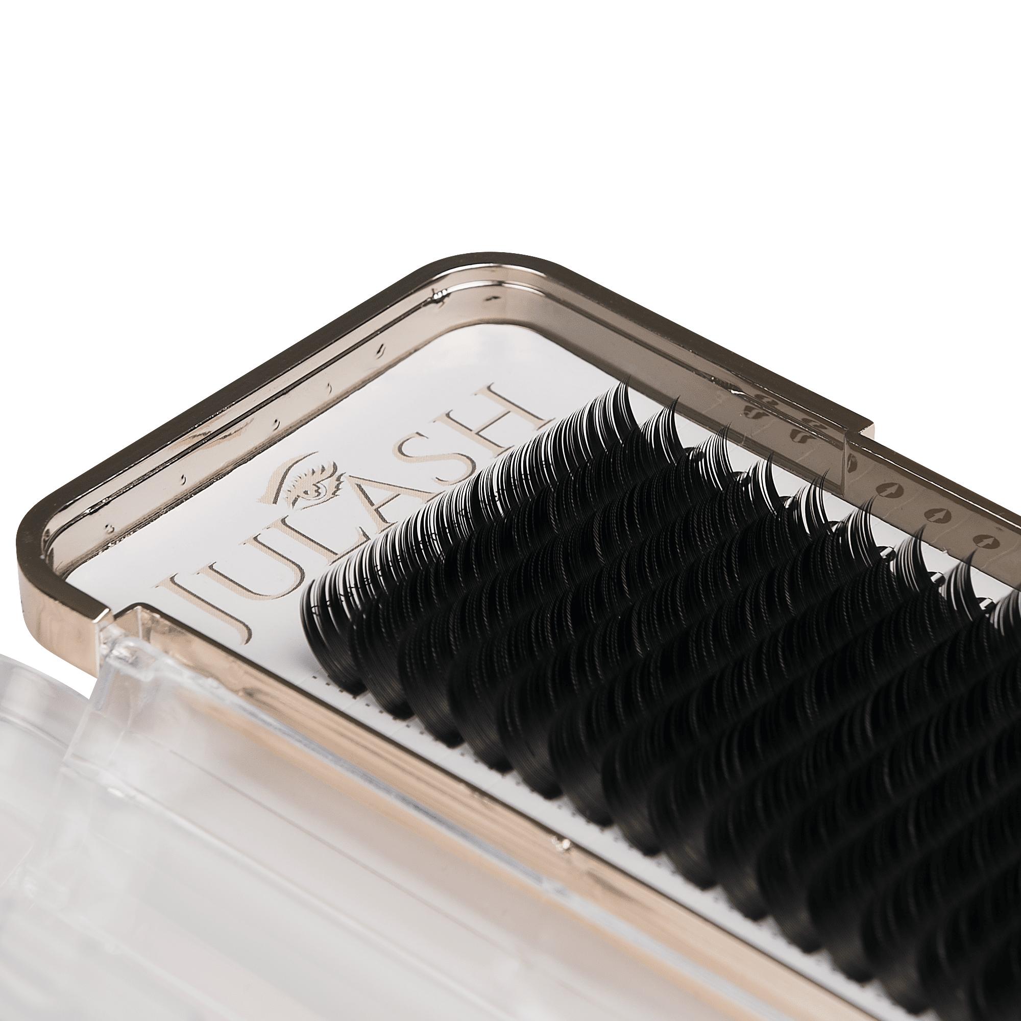 JuLash Golden Edition Flat Lashes - C 0.15