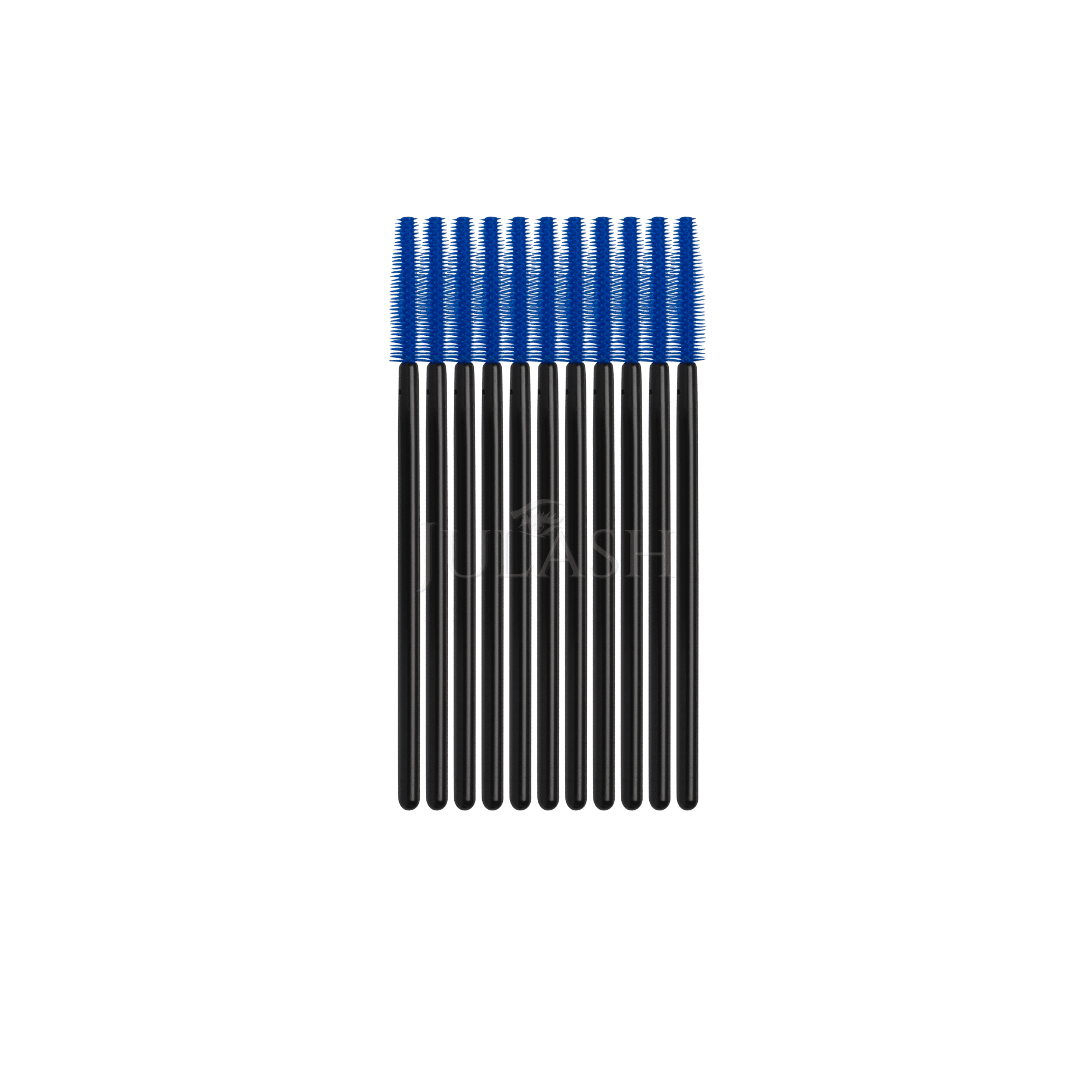 Mascaraborste Fransborstar Silikon Blå