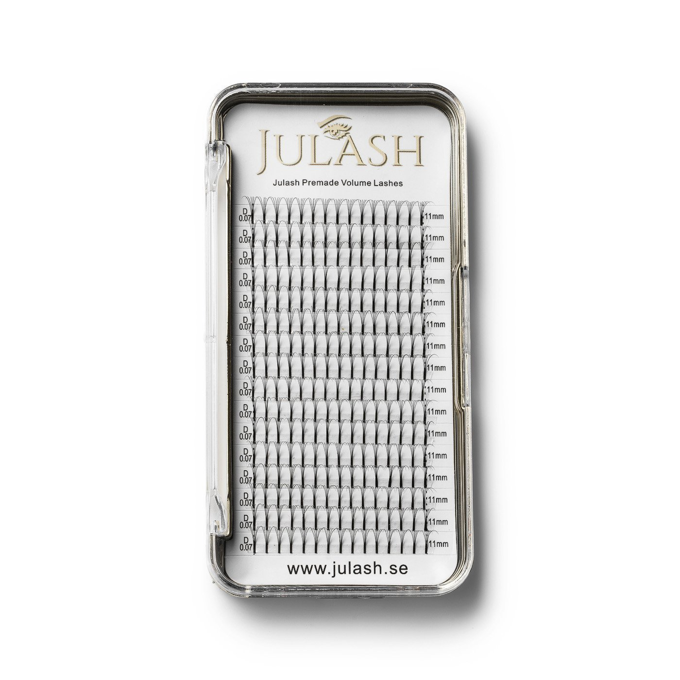 JuLash Golden 3D Mink Volym - C 0.07